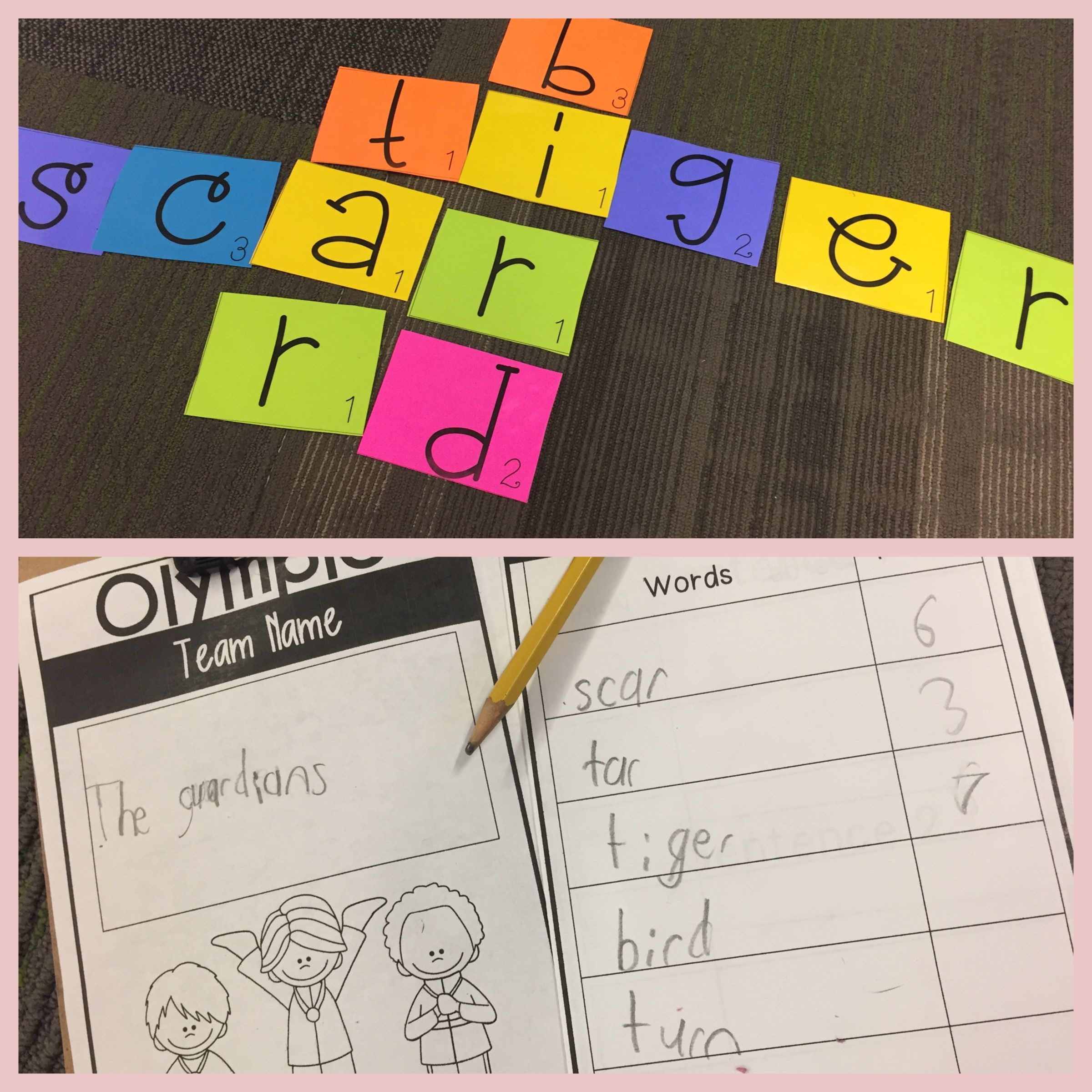 Scrabble Game For First Grade First Grade Olympics Are