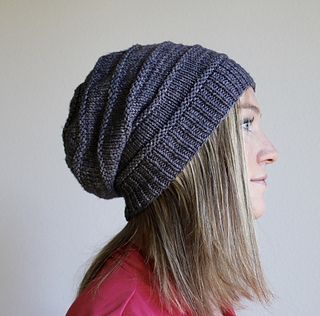 Favorite knit slouchy hat the happy hooker knits pinterest the favorite knit slouchy knitted headband free patterncrochet slouchy beanie dt1010fo