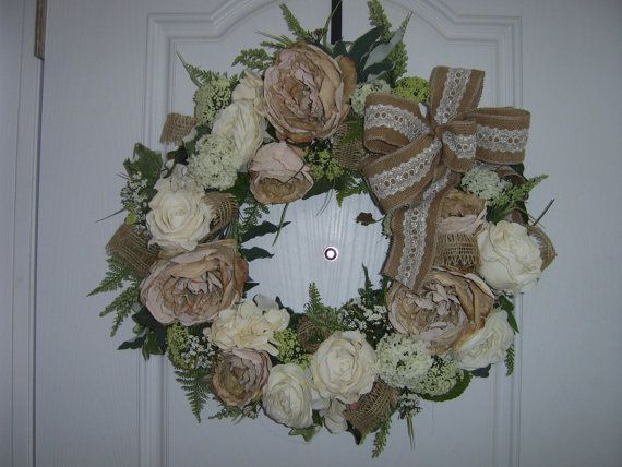 Neutral Beauty by TheVictorianBouquet on Etsy, $98.00