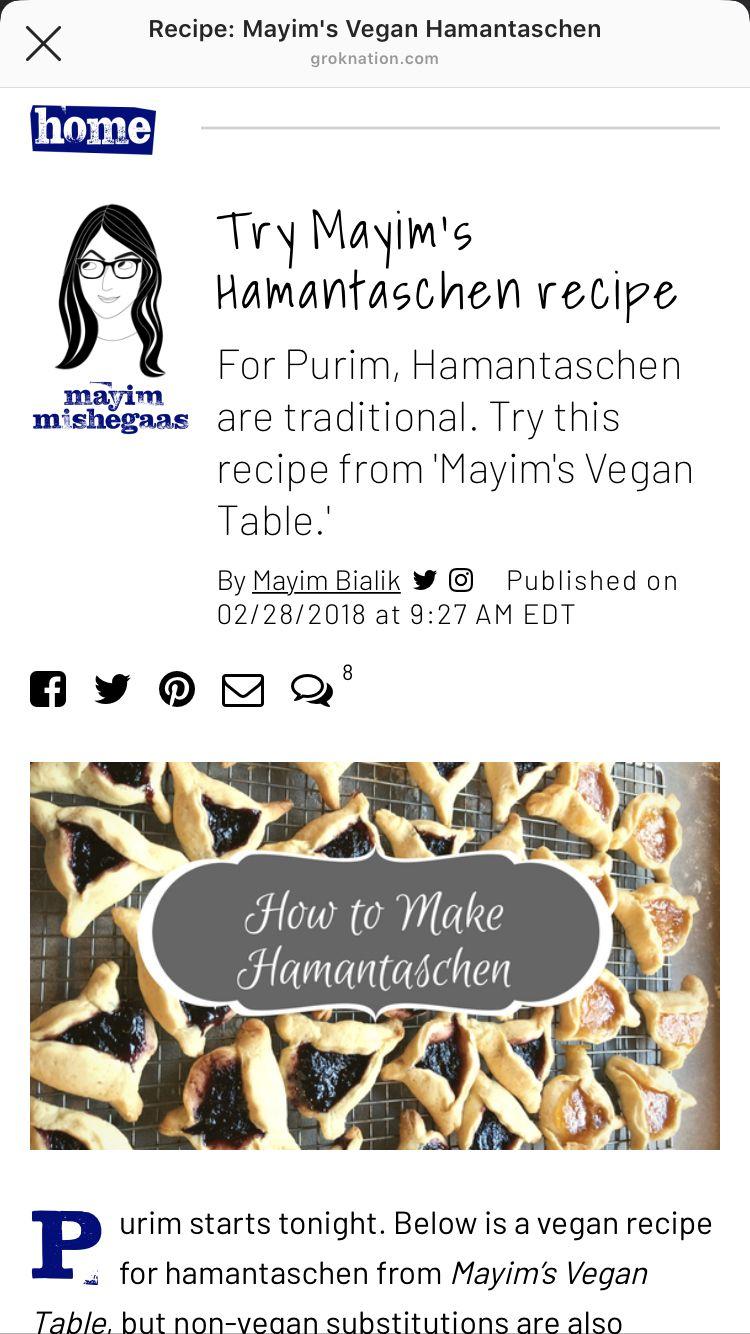 Pin by sarah burns on food hamantaschen recipe