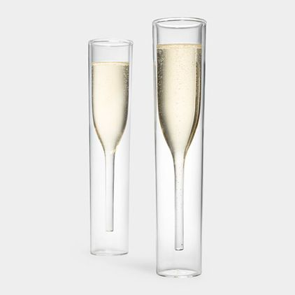 Superior Coolest Champagne Glasses. EVER. Contemporary Barware By MoMA Store