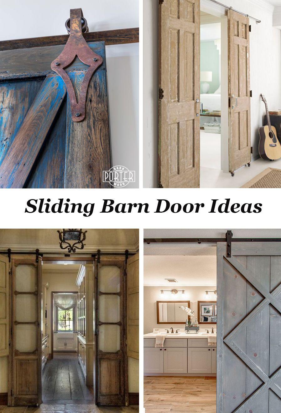Lots of ideas for sliding barn doors and door hardware! | Interior ...