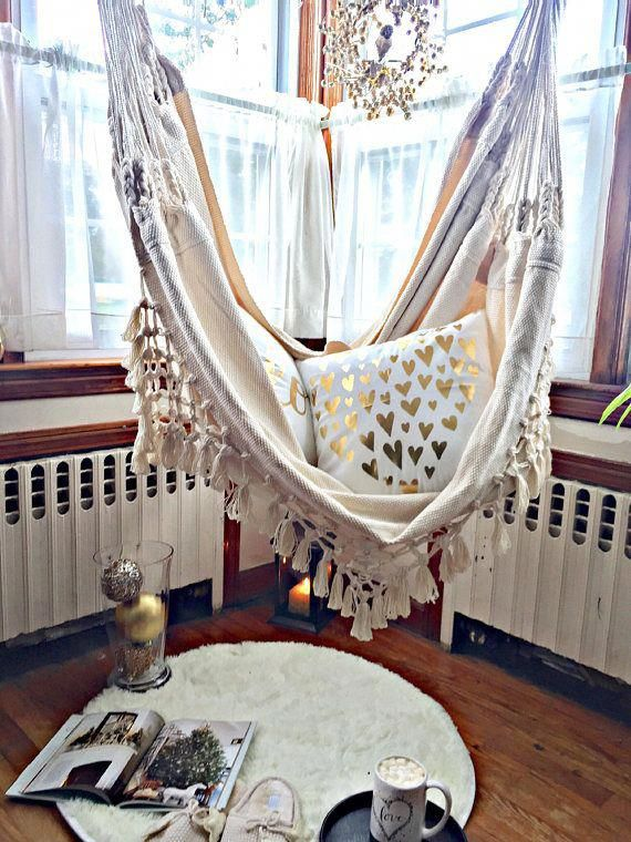 Luxury Hammock chair, 6 feet long, Extra big hammock chair