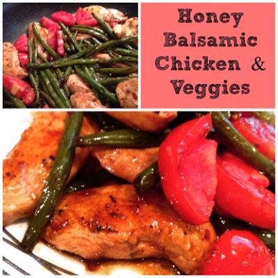 Spoonful at a Time: One-Pan Honey Balsamic Chicken
