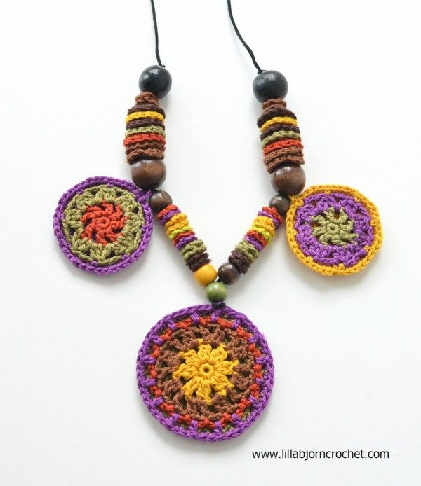Se encontró en Google desde es.pinterest.com | Joyería en crochet ...