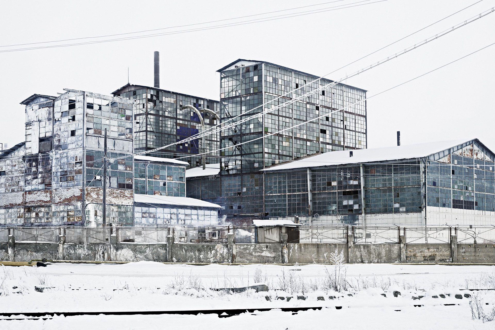 Sodium factory, Ocna Mureș, north-western Romania, 2012 Not quite forgotten: Stories of survival through the lens of Tamas Dezso - The Calvert Journal