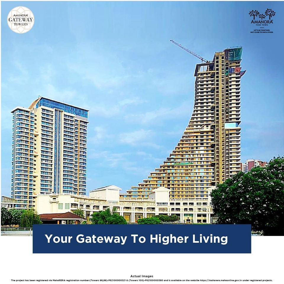 Gateway Towers Tallest Tower In Pune Tower Residential Building Luxury Apartments