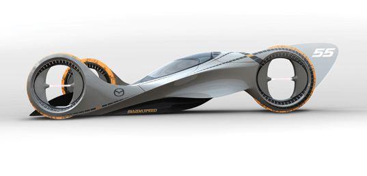 Transportation Tuesday Mazda S Futuristic Kaan Racer Mazda