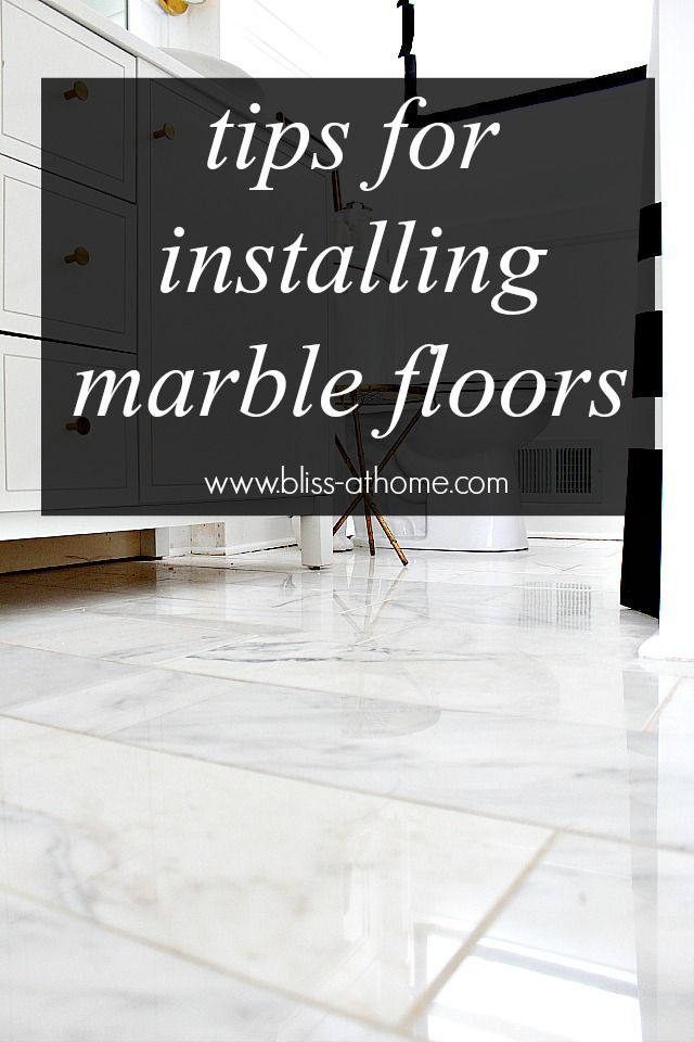 Diy Tips For Installing Marble Floors
