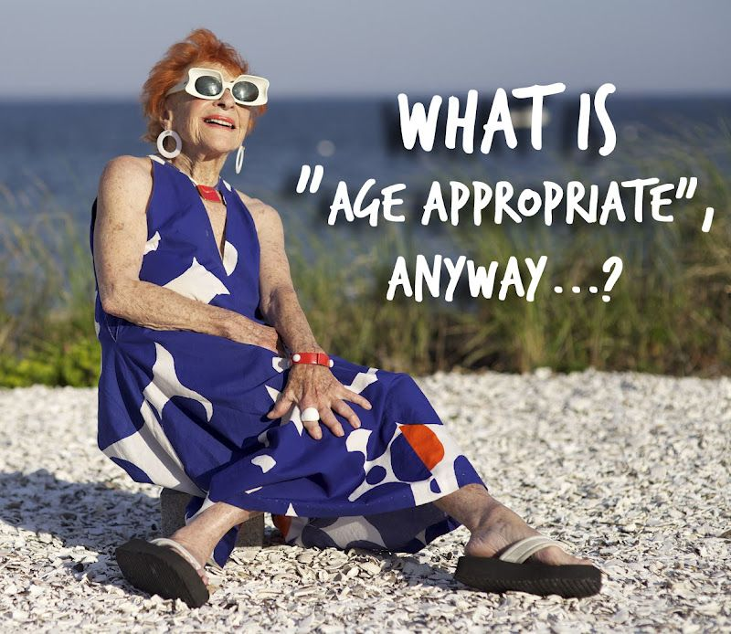 Age appropriate dressing