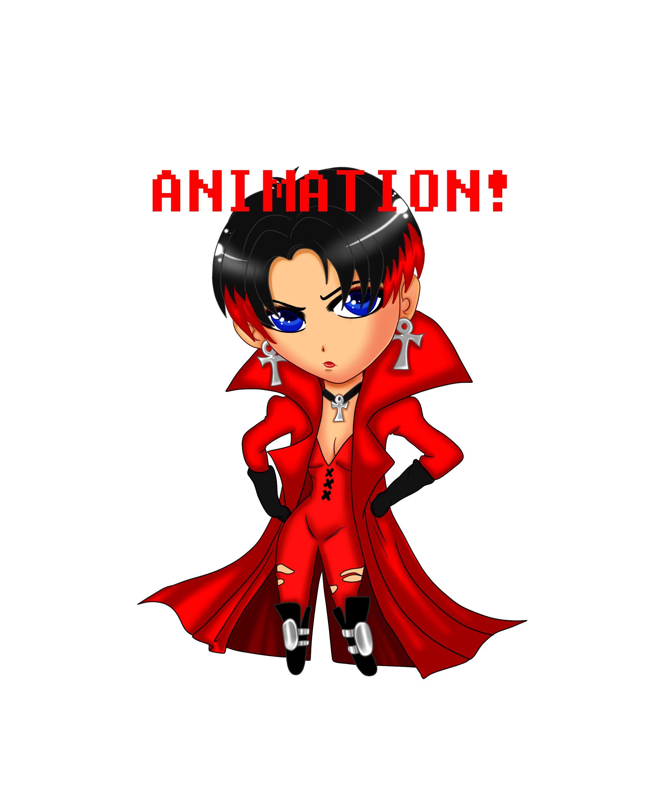 XMen Chibi: The Scarlet Witch Animation by JassyCoCo.deviantart.com on @deviantART