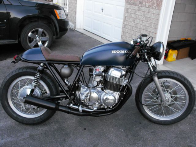 "1977 honda cb750 (k7) ""cafe racer"" | street, cruisers, choppers"