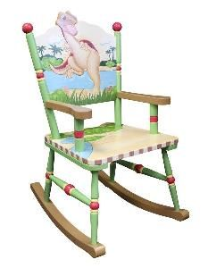 Child S Dinosaur Rocking Chair From Www Wellappointedhouse