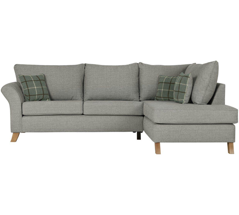 Buy Argos Home Kayla Right Corner Fabric Sofa Light Grey Sofas Beige Fabric Sofa Light Gray Sofas Beige Sofa