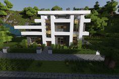 Imágenes Minecraft, Casa minecraft moderna y Casas