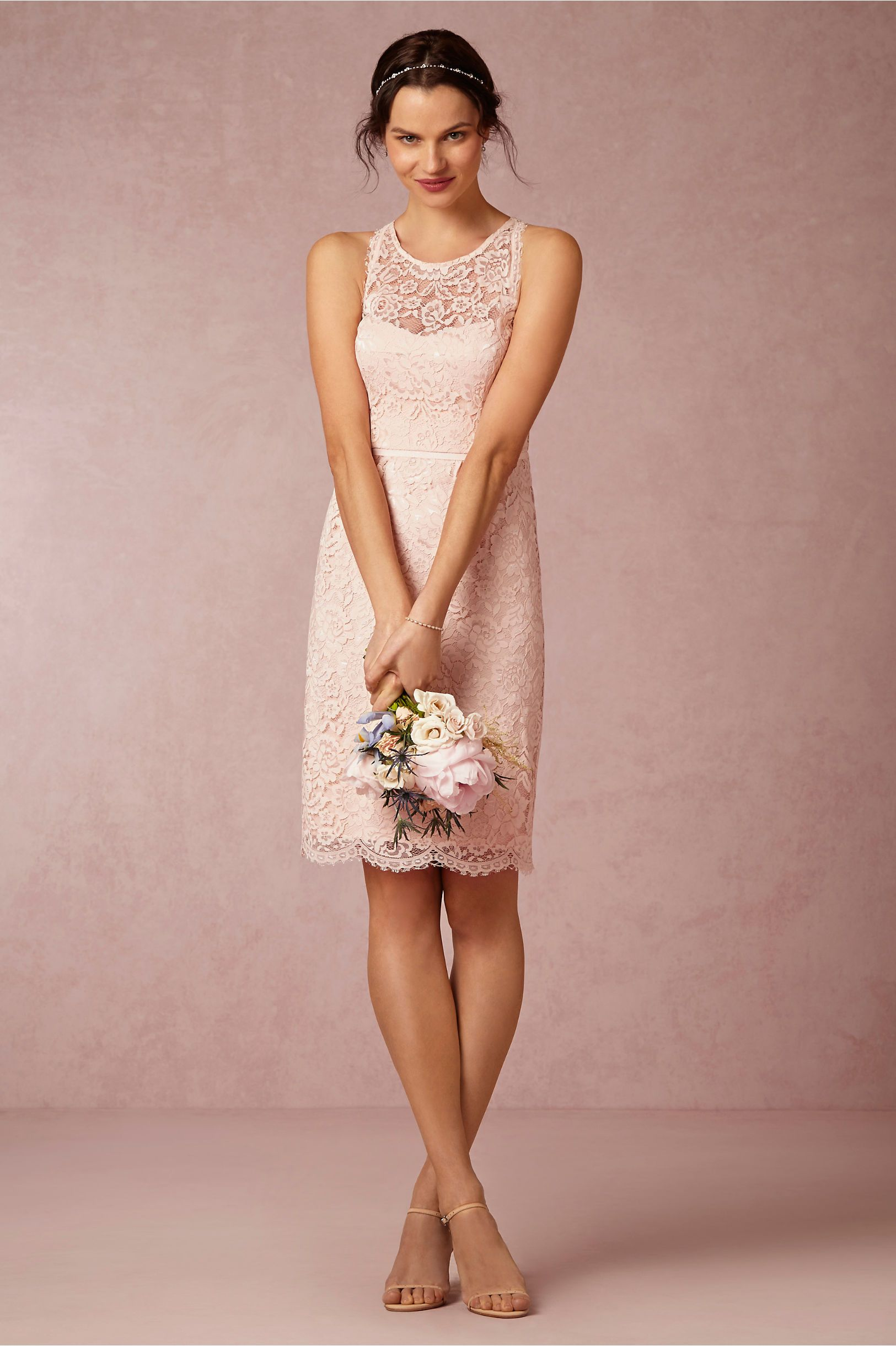 Sloane Bridesmaids Dress in blush from @BHLDN | Bridesmaid Dresses ...