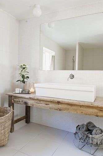 Come arredare il bagno in stile naturale - Bagno moderno in stile ...