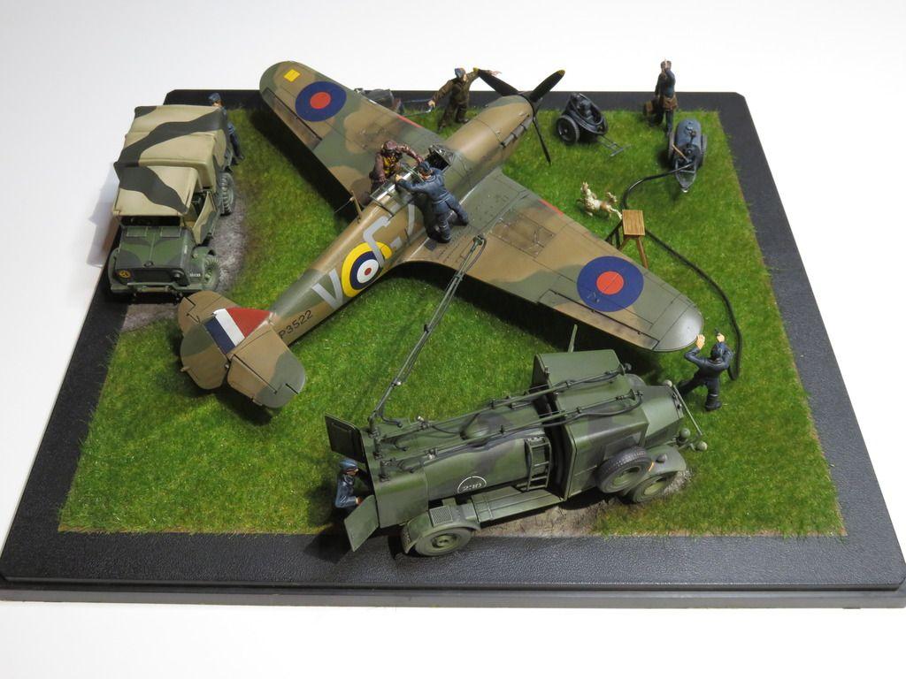148 Airfix Hawker Hurricane Mk1 Ready For Battle By Beat Eggimann