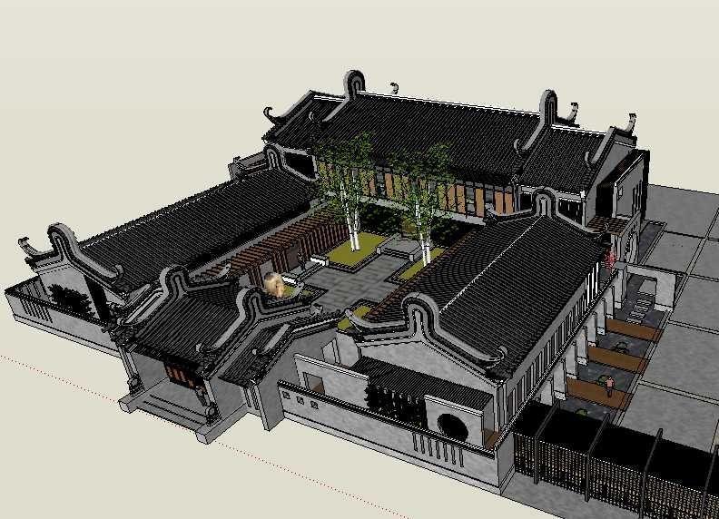 20 Kinds Of Chinese Landscape Sketchup Models Best Recommanded
