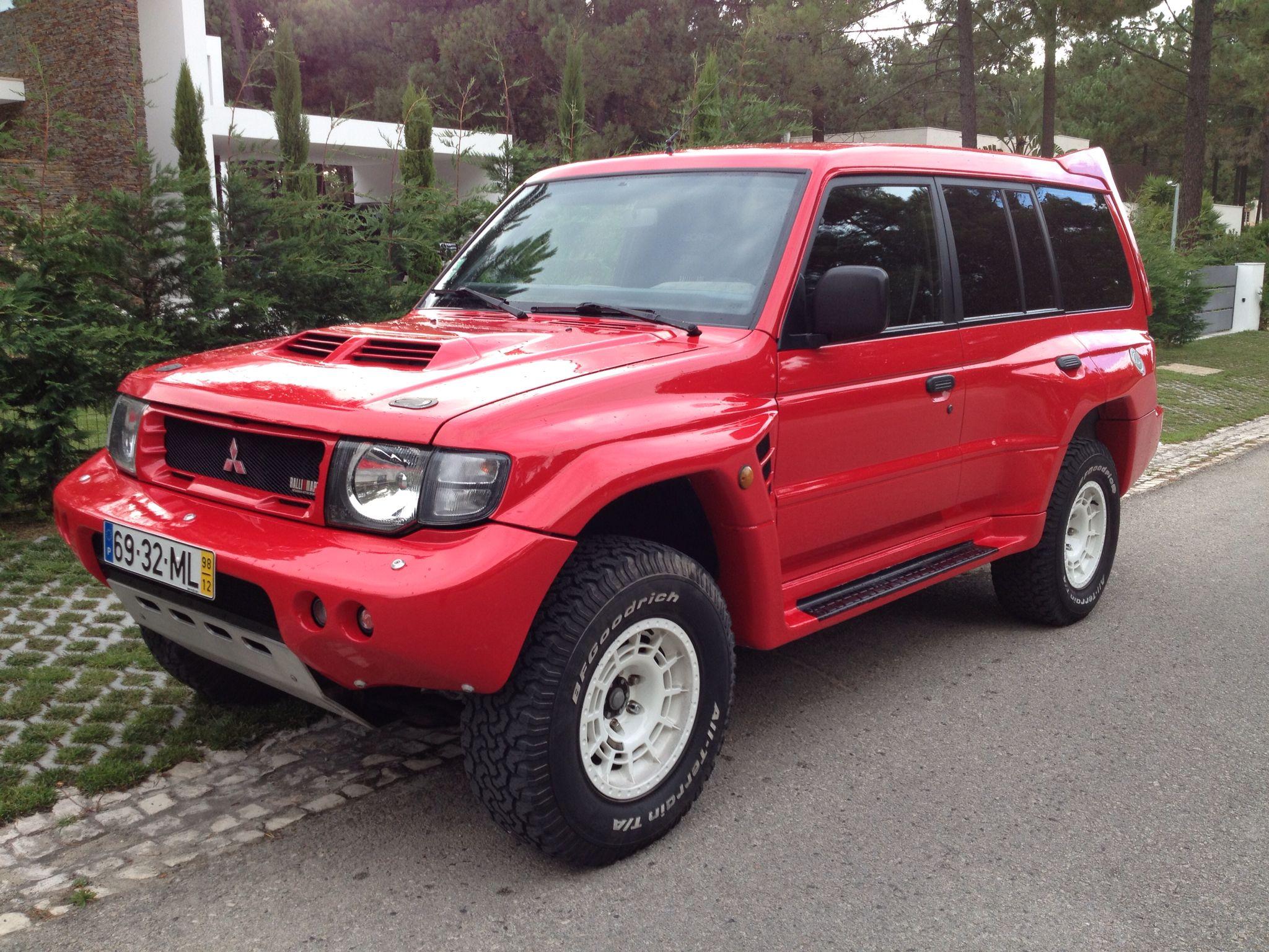 My Pajero Evo Ralliart Mitsubishi Suv Mitsubishi Pajero Work Truck