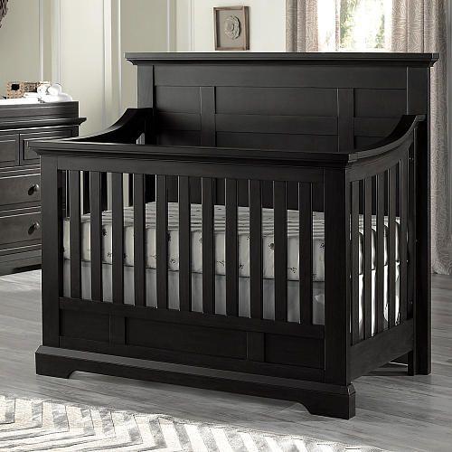 Avalon Baby Dallas 4 In 1 Convertible Crib Slate