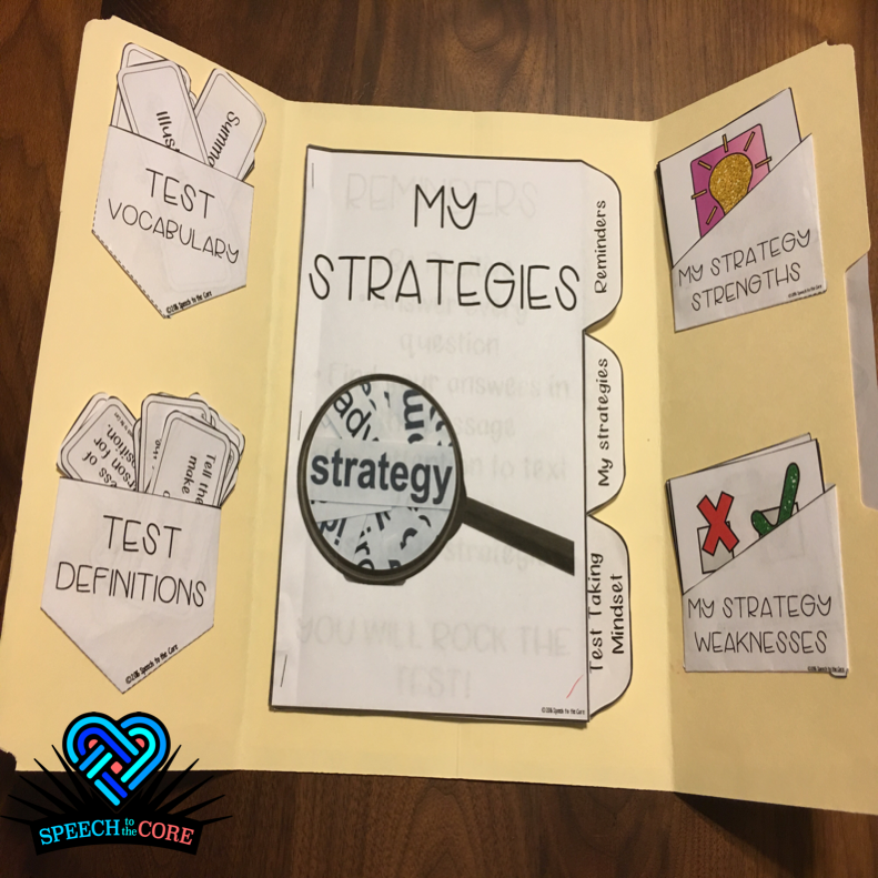 Test Taking Strategies Lap Book