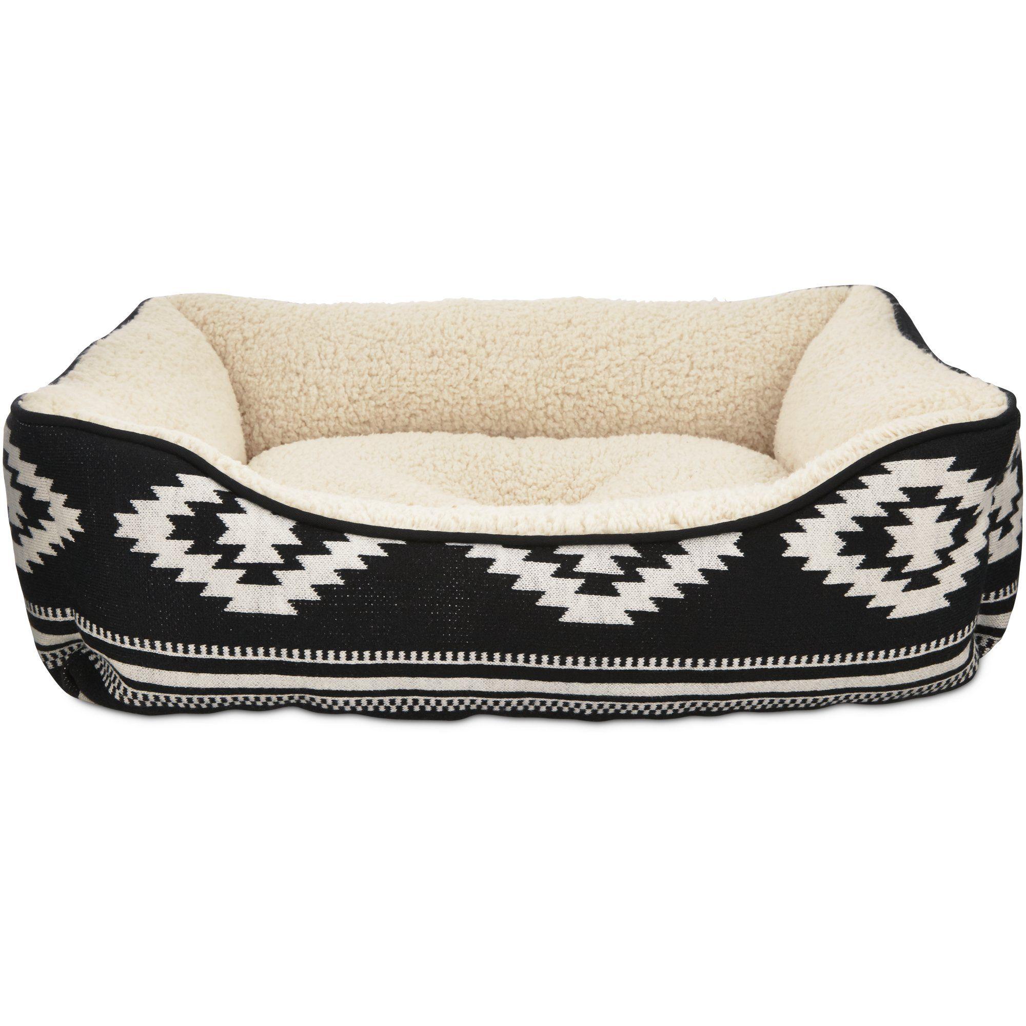 Harmony Black Aztec Dog Bed Petco Dog Bed Stylish Dog Beds