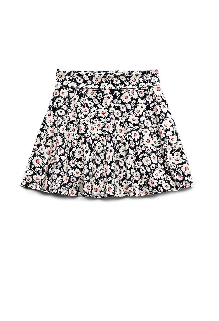 2f5d1b57f76a Wild Flower Skater Skirt (Kids)
