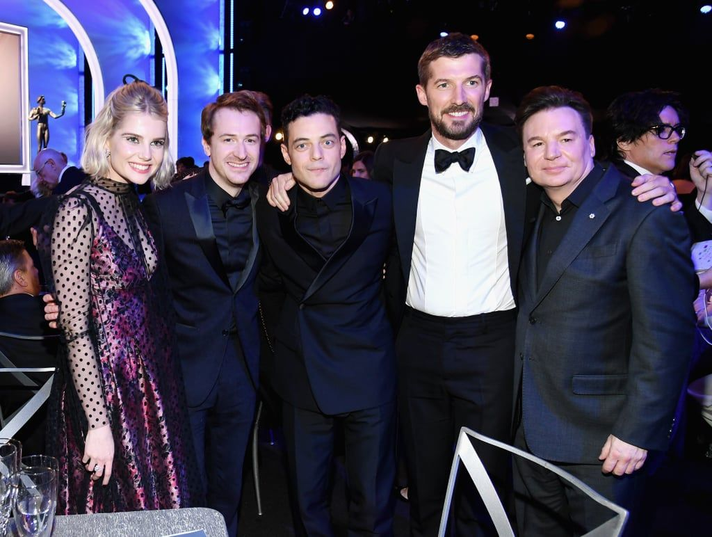 Lucy Boynton And Rami Malek Were Totally Smitten With Each Other At The Sag Awards Best Actor Kylie Jenner Fans Bohemian Rhapsody