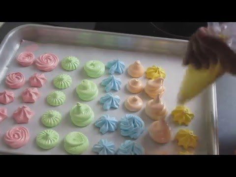 HYDRANGEA MERINGUE COOKIES FOR MOTHER'S DAY, HANIELA'S - YouTube