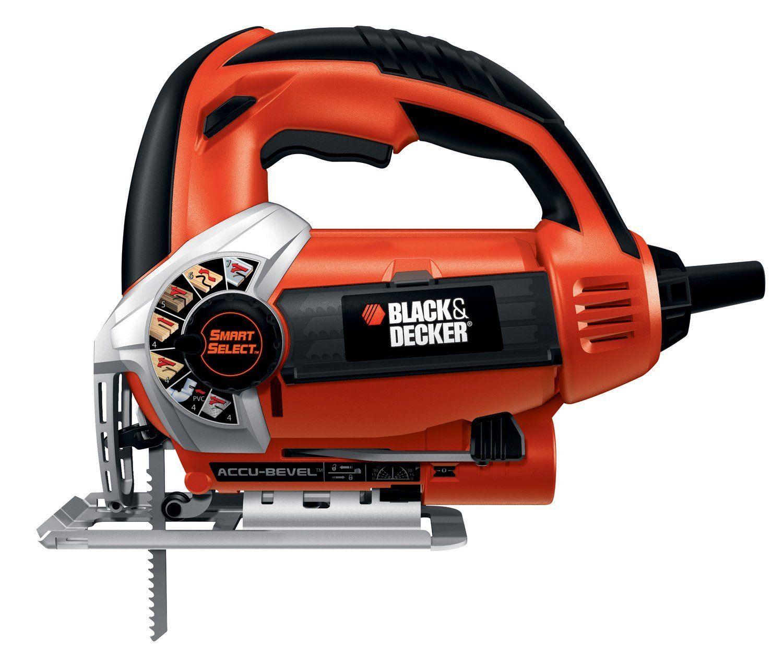 Black Decker Js660 Jig Saw With Smart Select Dial Orange Power Jig Saws Amazon Com Black Decker Jig Saws Best Jigsaw