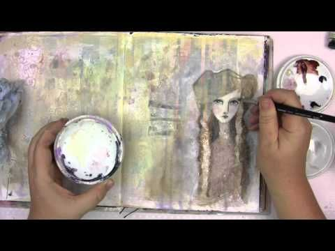 "Art Lesson Vol. 7 with Jane ""Danger"" Davenport: Gesso - YouTube"