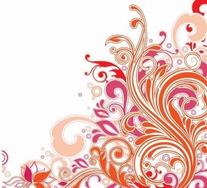 Swirl Floral Design Vector Art Art Inspiration Graphic Design