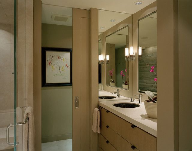 Master Bath - contemporary - bathroom - seattle - Garret Cord Werner
