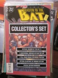 SHADOW OF THE BAT COLLECTOR's SET BATMAN DC COMICS hear about the extras Unopened Still sealed
