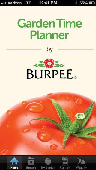 App for planning, sowing, transplanting, harvesting ...