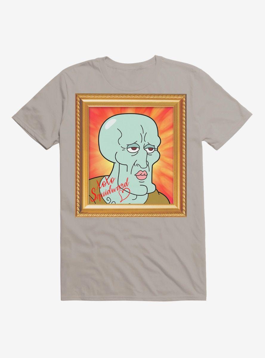 SpongeBob SquarePants Handsome Squidward Photo Autograph T-Shirt