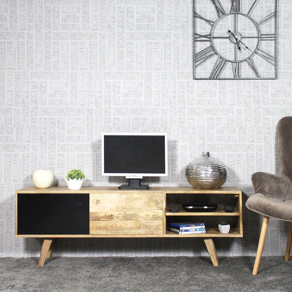 Meuble Tv Bois Massif Moderne Meuble Tv Profiter Et Tv # Meuble Tv Bois Massif Moderne