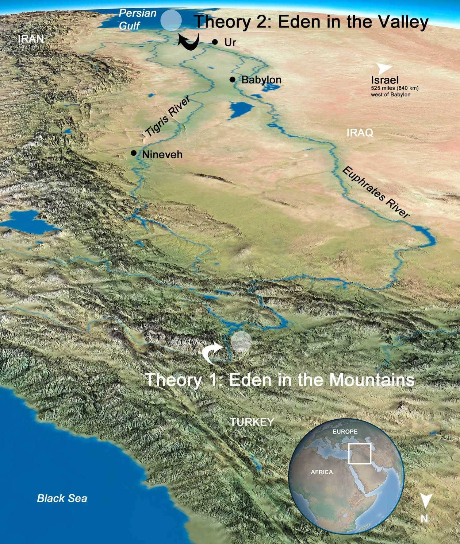 Eden Where On Earth Was It Ancient Mesopotamia Ancient Maps Bible History