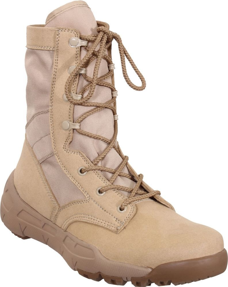 Desert Tan V-Max Lightweight Tactical Boots  Rothco  DesertBoots ... 1bc9a7f3d