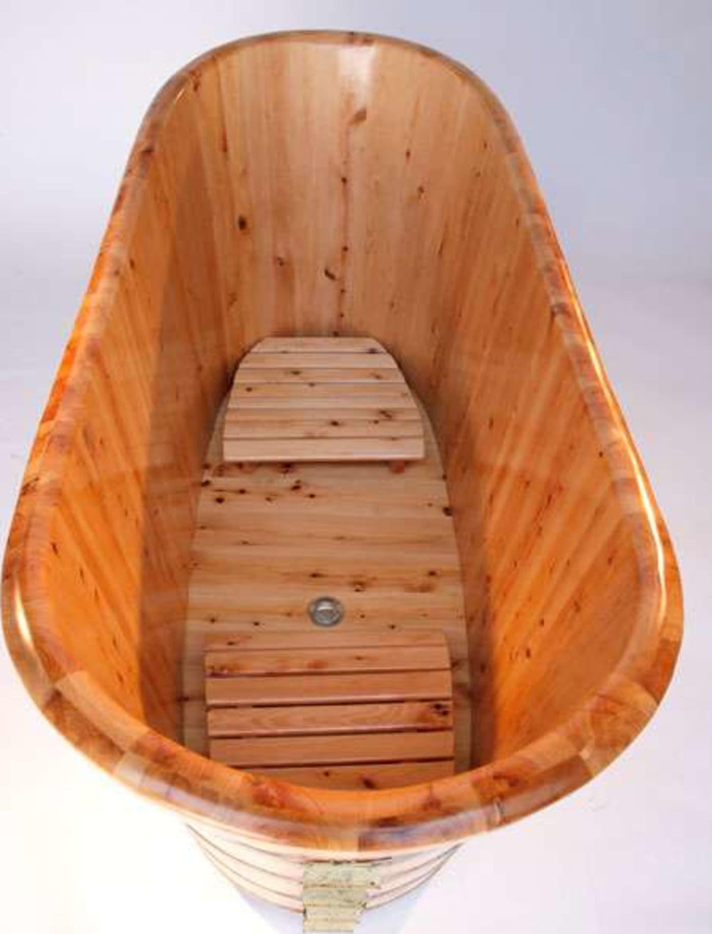 Ab1105 by alfi bathtubs wooden bathtub