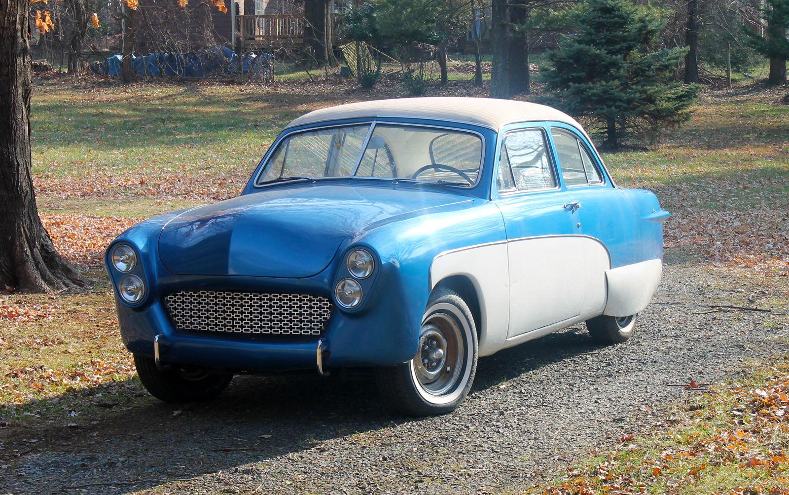 50 Ford Real Deal Old School Flathead Custom Hot Rod Shoebox Sled ...