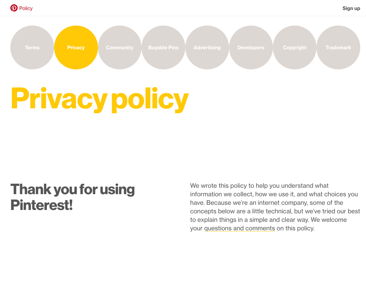 Pin By Alex Reed On Website Policy Signs Web Design Ux Web Design