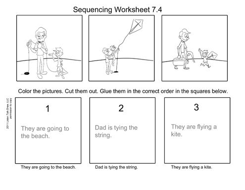 7 4 Kite Worksheet Reading Writing Slp Activities Worksheets