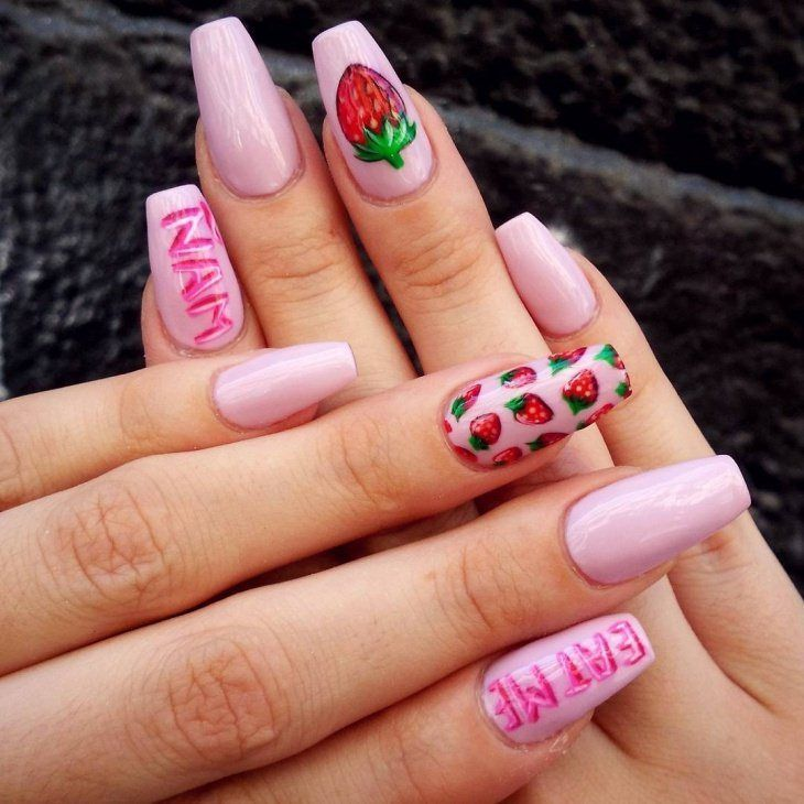 Fruit Nail Art Designs 2017 | Fruit nail art, Nail techniques and ...