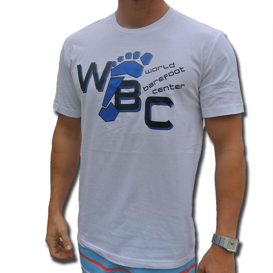 25 00 Wbc Foot Tee World Barefoot Center Proshop Mens Tops