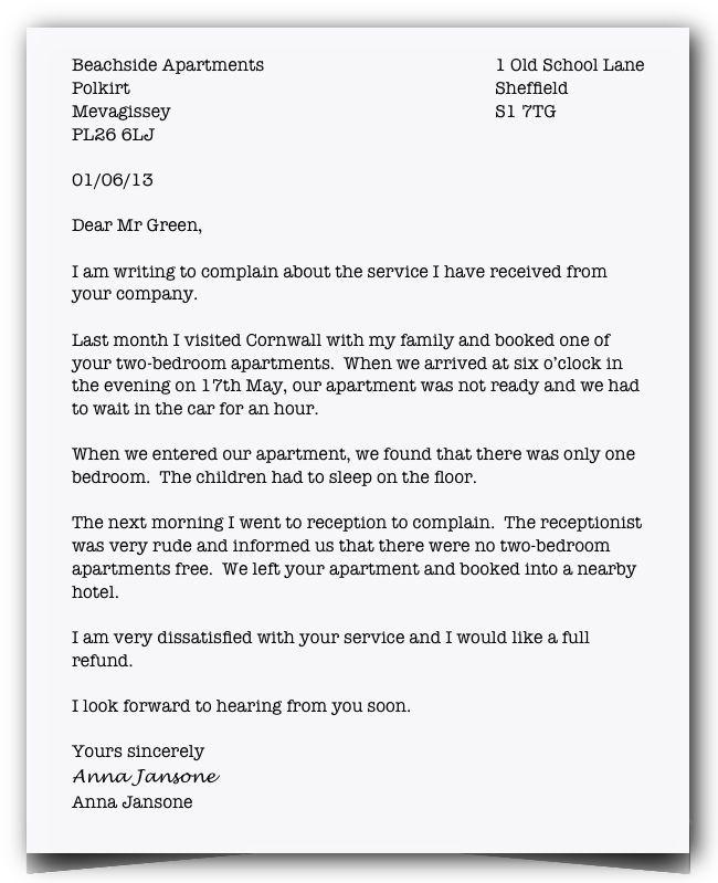 Formal letter пример английский 10 for my teaching Pinterest - best of informal letter format sample cbse