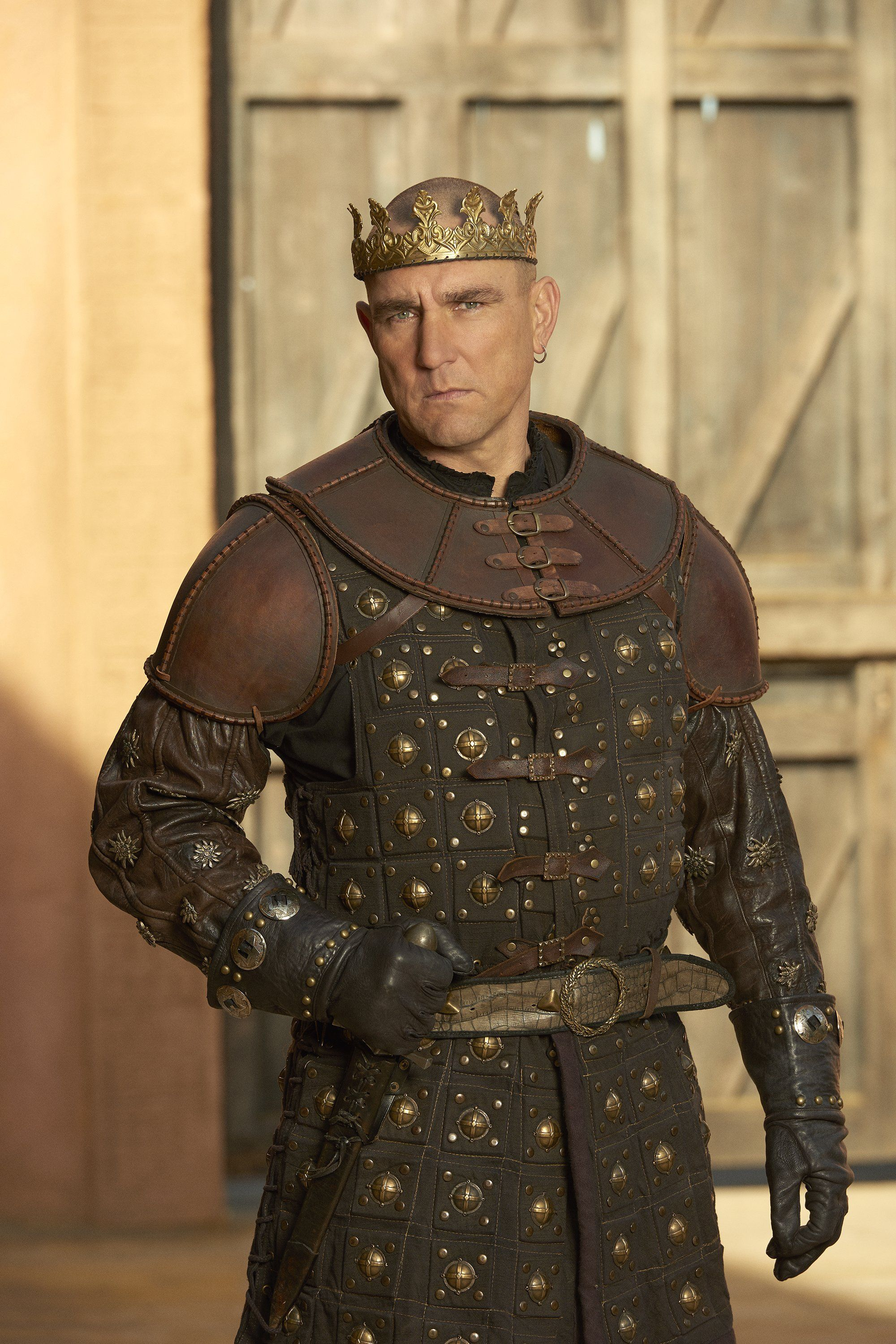 Vinnie Jones As King Gareth In Galavant Season 2