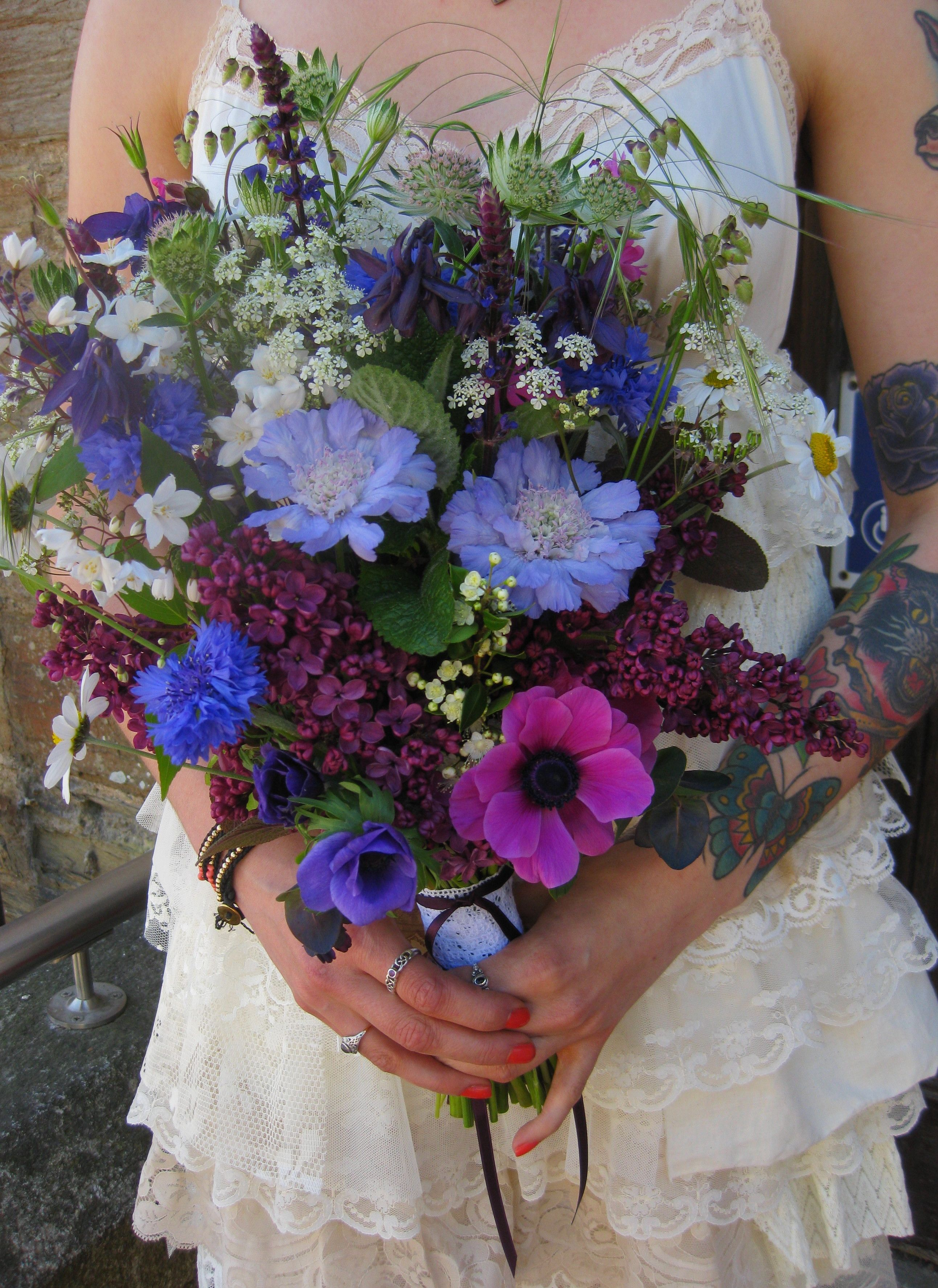 Beautiful May blooms from the flower mill cornwall