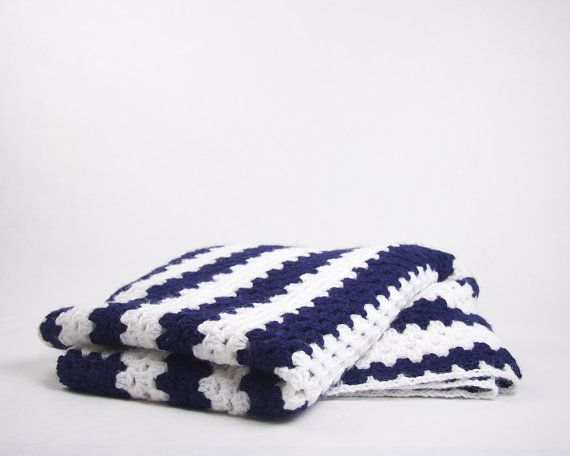 c6de666a4418 Navy and White, has there ever been such a crisp colour combination? Looks  adorable in a crochet blanket, for Nanna nights on the couch.